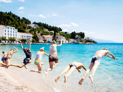 Teen adventure vacation in Southern Europe