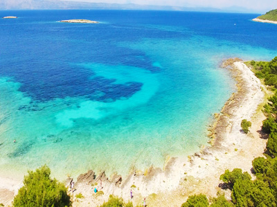 Active holidays for families on Brac island close to Split