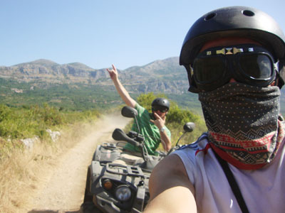 quad biking in dubrovnik tours
