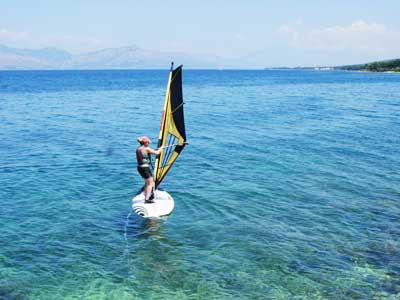 learn to wind surf tours