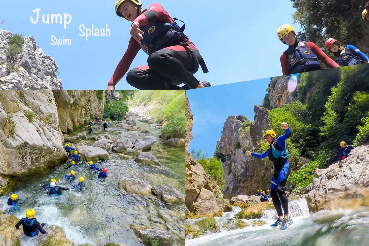 Book onto a canyoning tour this summer in Croatia. Perfect for active families.